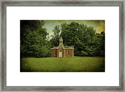 Perry Township School No. 3 Framed Print
