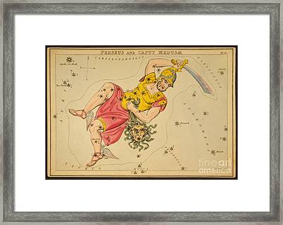 Perseus And Caput Medusae Framed Print by Science Source