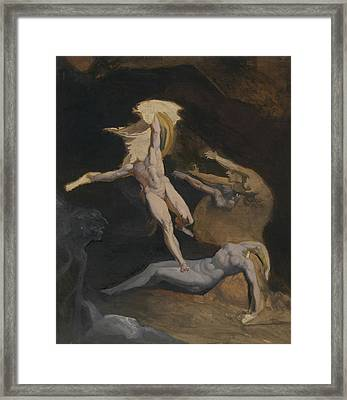 Perseus Slaying The Medusa Framed Print by Henry Fuseli
