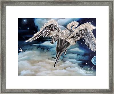 Perseus The Pegasus Framed Print