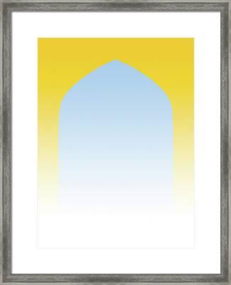 Essence Of Persia Framed Print by Daniel Furon