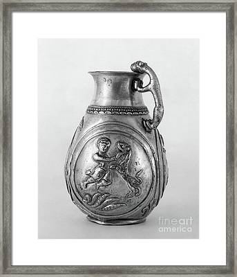 Framed Print featuring the photograph Persian Gladiator by Granger