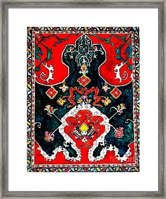 Persian Influence Framed Print