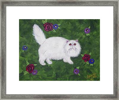 Persian Meadow Framed Print