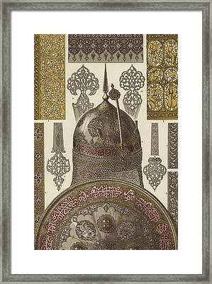 Persian Metalwork Framed Print by German School