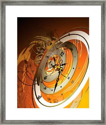 Persistence Of Time 2.0 Framed Print