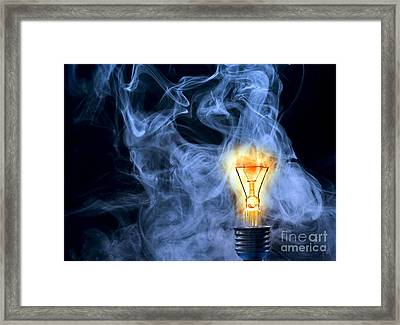 Persistence Of Vision Framed Print by Michal Boubin