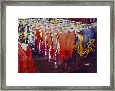 Personal Flotation #1 Framed Print