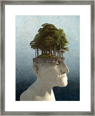 Personal Growth Framed Print by Cynthia Decker