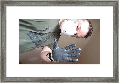 personal Protective equipment  Framed Print