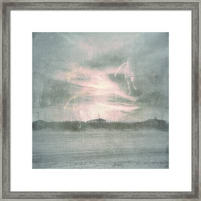 Ghosts And Shadows Vii - Personal Rapture  Framed Print