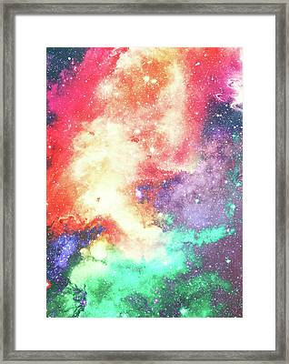 Personal Space Framed Print