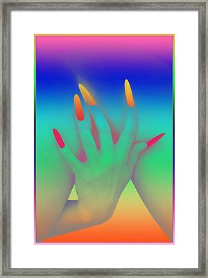 Personal Touch Framed Print by Tbone Oliver