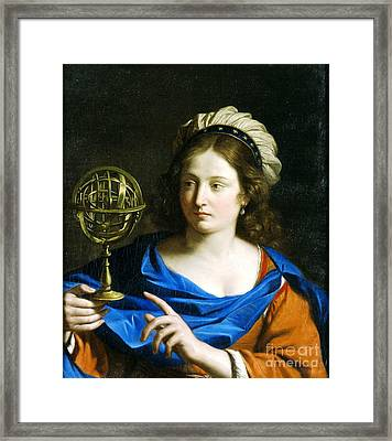 Personification Of Astrology Framed Print by Pg Reproductions