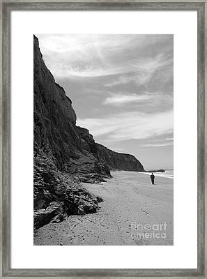 Perspective Framed Print by Amanda Barcon