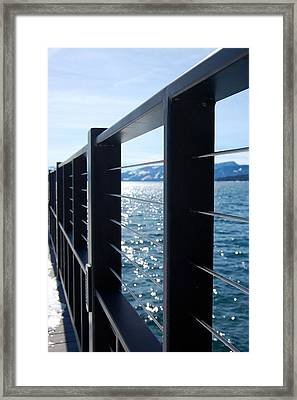 Perspective Framed Print by Heather S Huston
