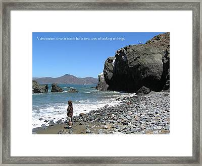 Perspective Framed Print by Jen White