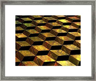 Perspective Framed Print by Karen Jensen