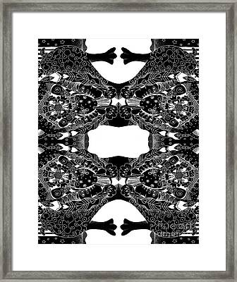 Perspectives Aka Coping In Challenging Times Framed Print