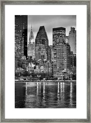Perspectives V Bw Framed Print by JC Findley