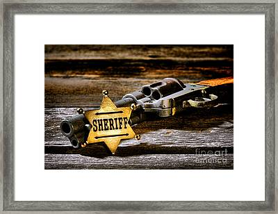 Persuasion Framed Print by Olivier Le Queinec