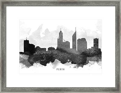 Perth Cityscape 11 Framed Print by Aged Pixel