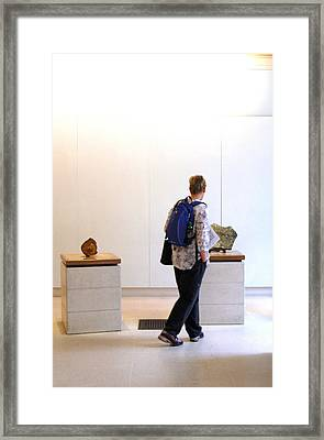 Perusing Framed Print by Jez C Self