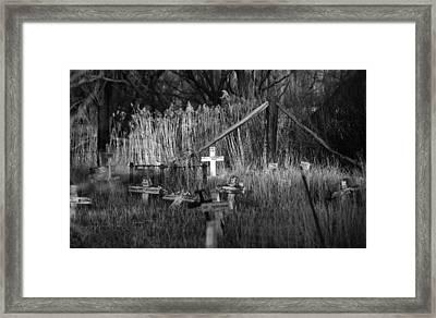 Pet Cemetery Framed Print