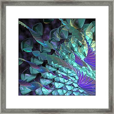 Petal Abstract Framed Print