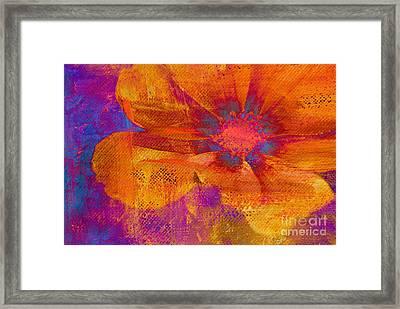 Petaline - T39a04b Framed Print