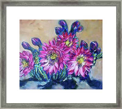 Petalos De Rosa Framed Print by Sheila Tajima