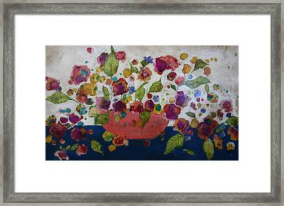 Petals And Leaves No. 2 Framed Print