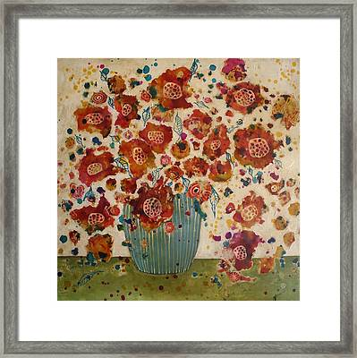 Petals And Leaves No. 4 Framed Print
