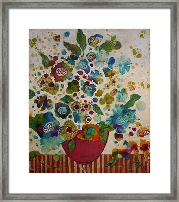 Petals And Leaves No. 5 Framed Print