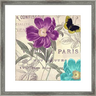Petals Of Paris II Framed Print by Mindy Sommers