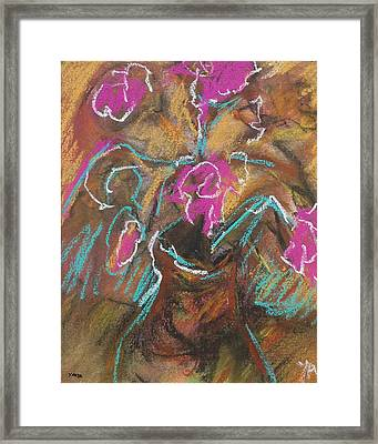 Petals Of Pink Framed Print