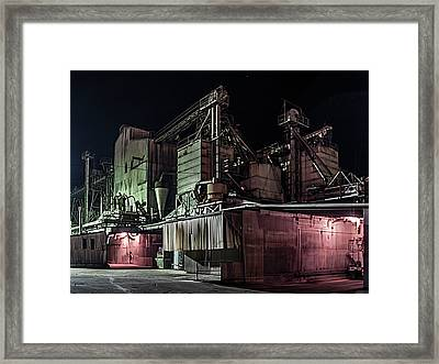 Petaluma Mill Framed Print