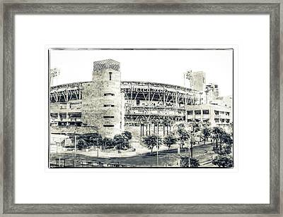Petco Park Framed Print by Nancy Forehand Photography