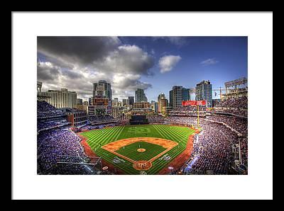 Baseball Fields Framed Prints