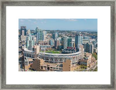 Petco Park Framed Print by Pamela Williams