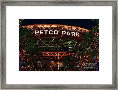 Petco Park Framed Print by RJ Aguilar