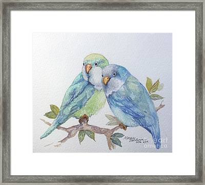 Pete And Repete Framed Print by Marcia Baldwin