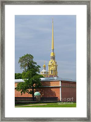 Peter And Pavel Basilica Framed Print by Vyacheslav Isaev