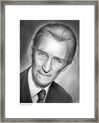 Peter Cushing Framed Print