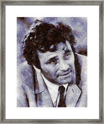 Peter Falk Columbo Framed Print