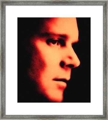 Peter Krause Abstract Framed Print by Paul W Sharpe Aka Wizard of Wonders