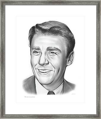 Peter Lawford Framed Print