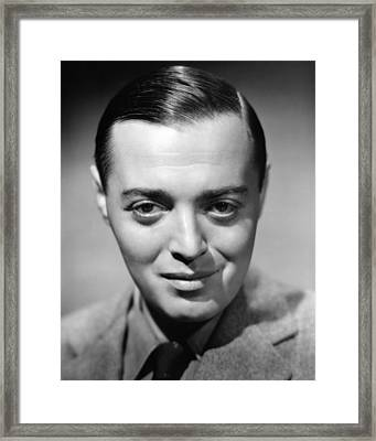 Peter Lorre, 1938 Framed Print by Everett