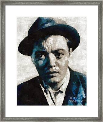 Peter Lorre Hollywood Actor Framed Print