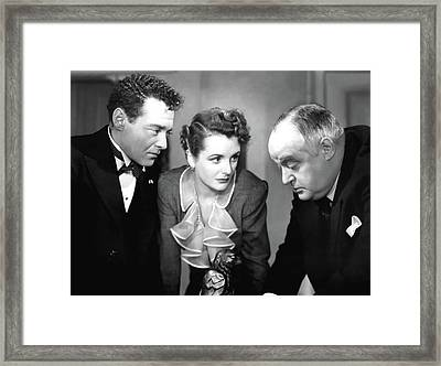Peter Lorre Mary Astor Sydney Greenstreet The Maltese Falcon 1941 Framed Print